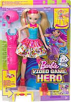 """Кукла Барби """"Героиня Видеоигр"""" на светящихся роликах / Barbie Video Game Hero Girls Anime Doll, фото 9"""