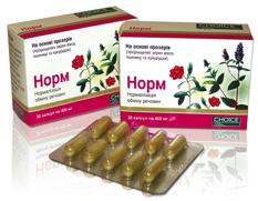 NORM (Норма) - Нормализация обмена веществ 1 уп = 30 капсул