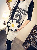 Милые круглые сумки с узором в ромашку, фото 3