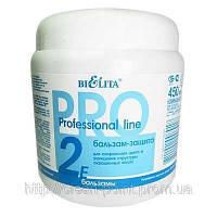 PROFESSIONAL LINE Бальзам Защита - Для окрашенных волос, 450 мл