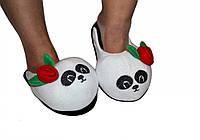 """Тапочки- игрушка """"Девочка панда"""" (детские) от 18 до 32разм."""