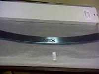 накладка на зад бампер Mitsubishi ASX