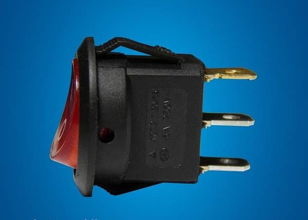 Переключатель двухпозиционный с индикацией 6A Код.55882, фото 2