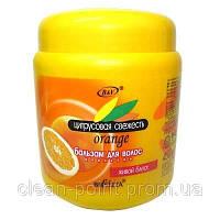 ЦИТРУСОВАЯ СВЕЖЕСТЬ Бальзам для волос - Апельсин, 450 мл