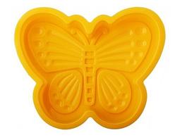 Силиконовая форма для выпечки Бабочка 11.5*13*4 (шт)