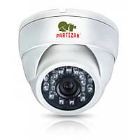 Купольная AHD камера Partizan CDM-233H-IR HD v3.2, 1.3Mpix