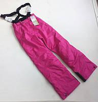 Горнолыжные штаны Crane женские розового цвета