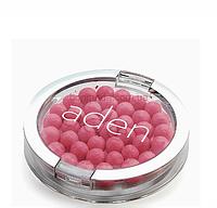 """Румяна шарики жемчужные Aden """"Warm pink"""" № 06, фото 1"""
