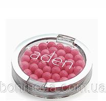 """Румяна шарики жемчужные Aden """"Warm pink"""" № 06"""