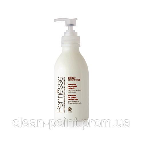 Шампунь для окрашенных волос с экстрактом Личи и Красного винограда BAREX Сoloured hair shampoo 250 мл.