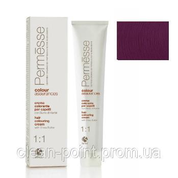 Barex Крем-краска для волос с маслом Карите Permesse тон 6.70 Темный блондин фиолетовый интенсивный