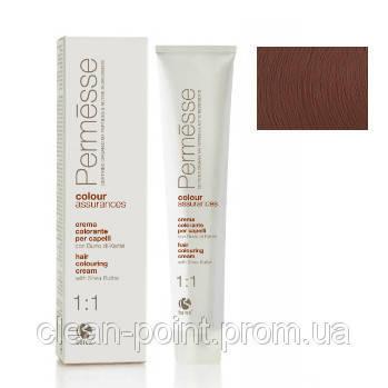 Barex Крем-краска для волос с маслом Карите Permesse тон 7.8 Карамель и шоколад