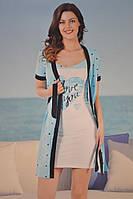 Женская сорочка с халатом