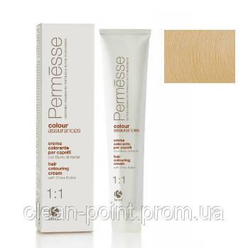 Barex Крем-краска для волос с маслом Карите Permesse тон 11.03 Ультрасветлый блондин натуральный золотистый