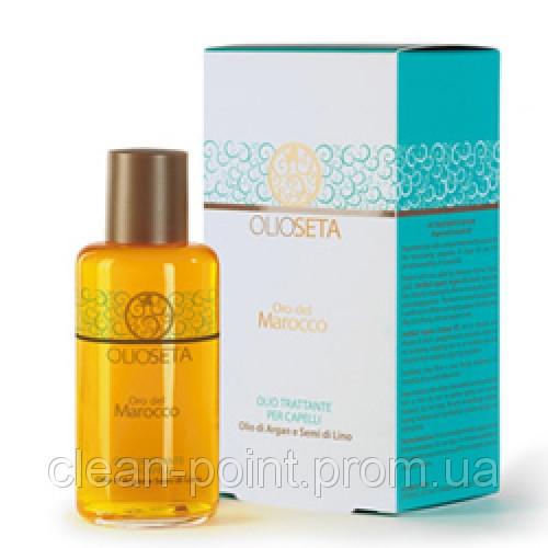 Barex Italiana Масло-уход с маслом арганы и маслом семян льна 100 мл