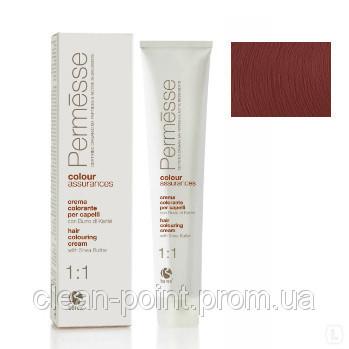 Barex Крем-краска для волос с маслом Карите Permesse тон 6.5 Темный блондин махагоновый.