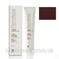 Barex Крем-краска для волос с маслом Карите Permesse тон 4.56 Каштан махагоново-красный.
