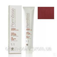 Barex Крем-краска для волос с маслом Карите Permesse тон 6.56 Темный блондин махагоново-красный.