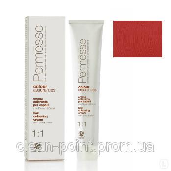 Barex Крем-краска для волос с маслом Карите Permesse тон 6.60 Темный блондин красный интенсивный.