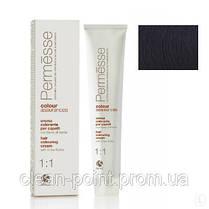 Barex Крем-краска для волос с маслом Карите Permesse1.0 Черный. 100 мл