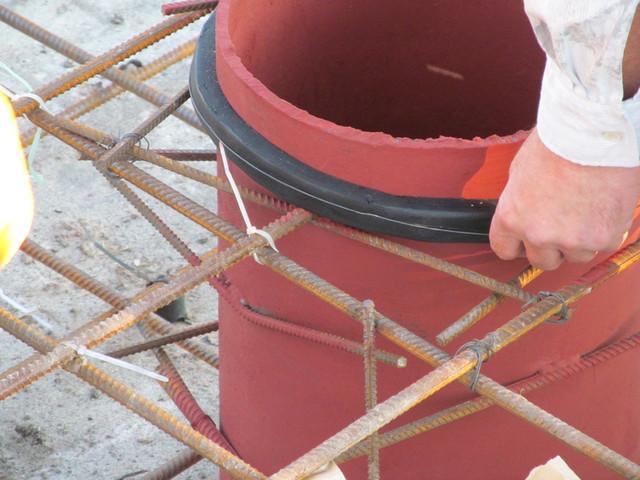 Шнур Пенебар для проходв труб в фундаментной плите