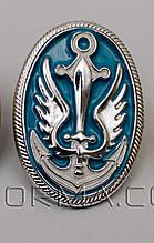 Кокарда морської піхоти срібло пластик