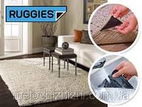 Уголки-липучки, держатель для ковров Ruggies, 4 резиновых уголка и 4 бумажных уголка.