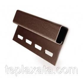 Сайдинг FASIDING Профиль финишный коричневый