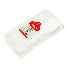 Безворсовые салфетки 6х5 см. (1000 шт.) Kodi