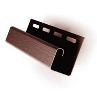 ОПТ - Сайдинг FASIDING Профиль J-trim коричневый, фото 1