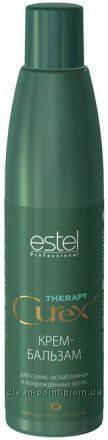 Estel Professional Curex Therapy Крем-бальзам для сухих, ослабленных и поврежденных волос 250 мл.