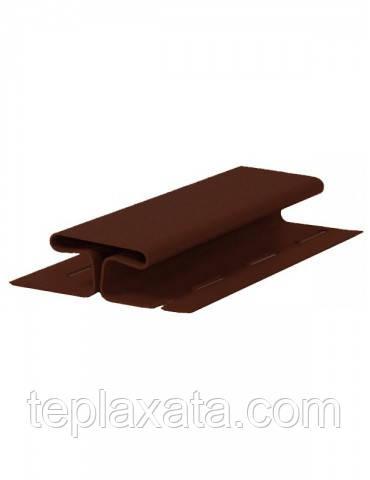 Сайдинг FASIDING Профиль соединительный коричневый