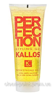 KALLOS Гель для волос экстра сильной фиксации, 250 мл