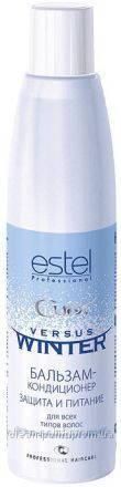 ESTEL Curex Versus Winter Бальзам-кондиционер для всех типов волос защита и питание 250 мл.