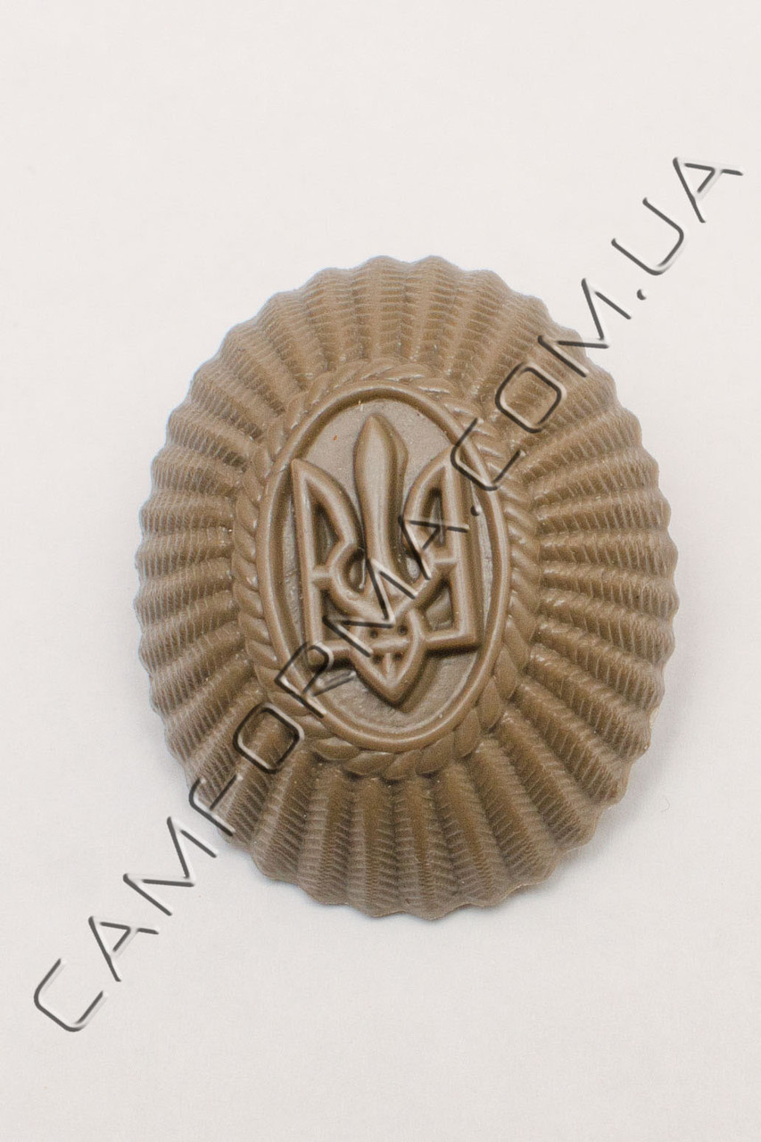 Кокарда на кепку (песочная)