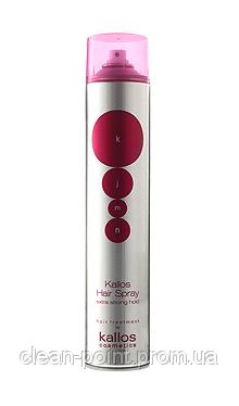 KJMN Extra Strong Лак для волос экстра сильной фиксации, 500 мл