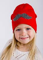 Детская шапка СЕСИЛИЯ для девочек оптом размер 46-48-50, фото 1
