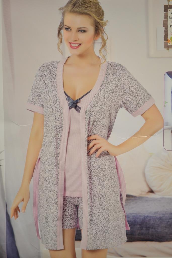 b177ccaab59f2 Пижама с халатом (тройка): продажа, цена в Хмельницком. пижамы ...