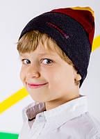Детская шапка МАДРИД для мальчиков оптом размер 48-50-52-, фото 1