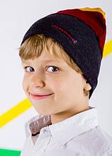 Детская шапка МАДРИД для мальчиков оптом размер 48-50-52-