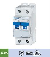 Автоматичний вимикач «DLS 6i C25-2», C, 2пол., 25 А, 10 кА