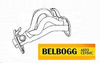 Коллектор выпускной BYD G3, G3R , Бид Ж3, Бід Г3Р