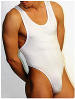 Мужское стринг боди Doreanse 5003 белое, фото 1