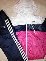 Детский Спортивный костюм на девочку, плащевка, размер 38, фото 1