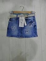 Детская джинсовая юбка GRACE
