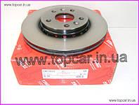 Тормозной диск передний Renault Kango II 08- TRW Германия DF6110