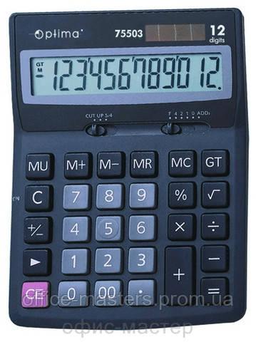 Калькулятор,12-разрядный 170*105 - Офис-Мастер в Одессе