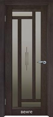 Двери межкомнатные Реликт модель МИЛАН витраж