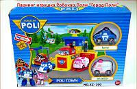 Детский гараж-парковка Поли
