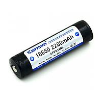 Аккумулятор Li-Ion KeepPower 18650 2200mAh (Sanyo) c защитой